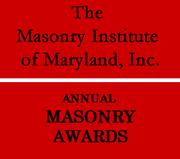 Masonry Inst of Maryland Award 180 X 159